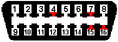Adaptation d'un compteur de Mk4 sur Mk3 Obd